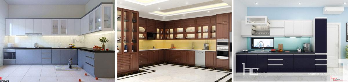 Thiết kế tủ bếp nhựa Hải Phòng