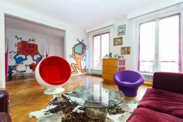 Pop Art – nét táo bạo trong thiết kế nội thất