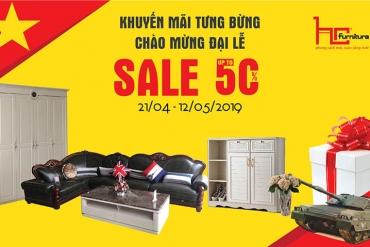 [CTKM] - Giảm đến 50% toàn bộ showroom nhân dịp 30/4/2019