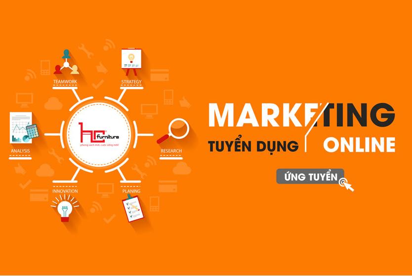 Tuyển dụng Chuyên viên Marketing Online