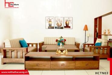 Những tiêu chuẩn một bộ Sofa gỗ lý tưởng nên có