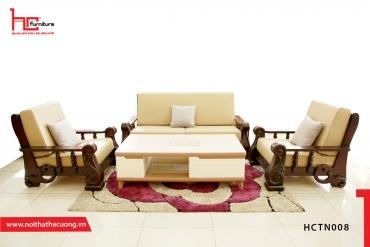 Chọn sofa cho phòng khách nhà ống hiện đại – khó mà dễ