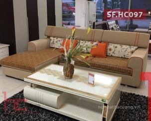 Sofa nỉ HC097