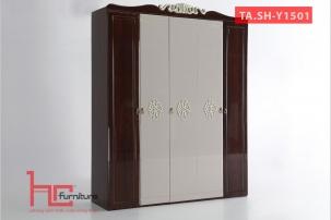 Tủ áo SH-Y1501 tân cổ điển