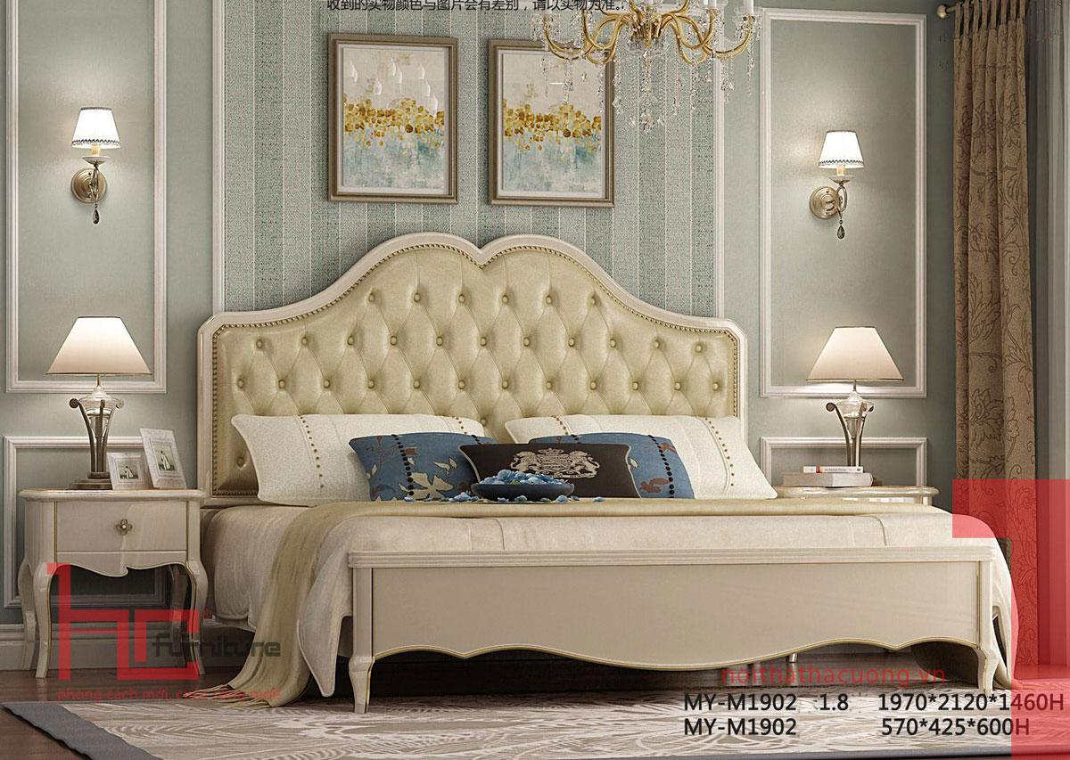 Địa chỉ mua giường ngủ tân cổ điển tại Hải Phòng