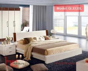 Giường ngủ 3302L 1.8x2m