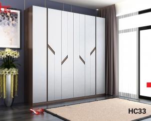 Tủ quần áo 6 cánh đẹp HC33